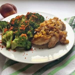 piletina sos od breskve brokoli prezle parmezan