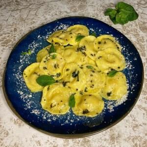 Raviole sa 4 vrste sira Limun Parmezan Puter Nana