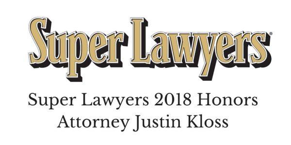 Super Lawyers Justin Kloss
