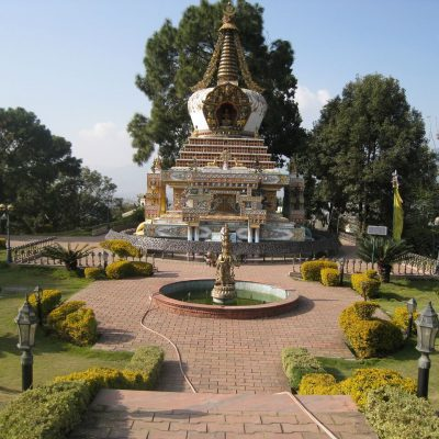 Meditationskurs im Tibetischen Kloster, Nepal