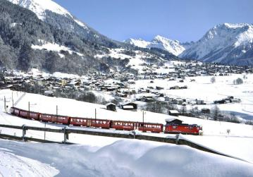 The train to Klosters
