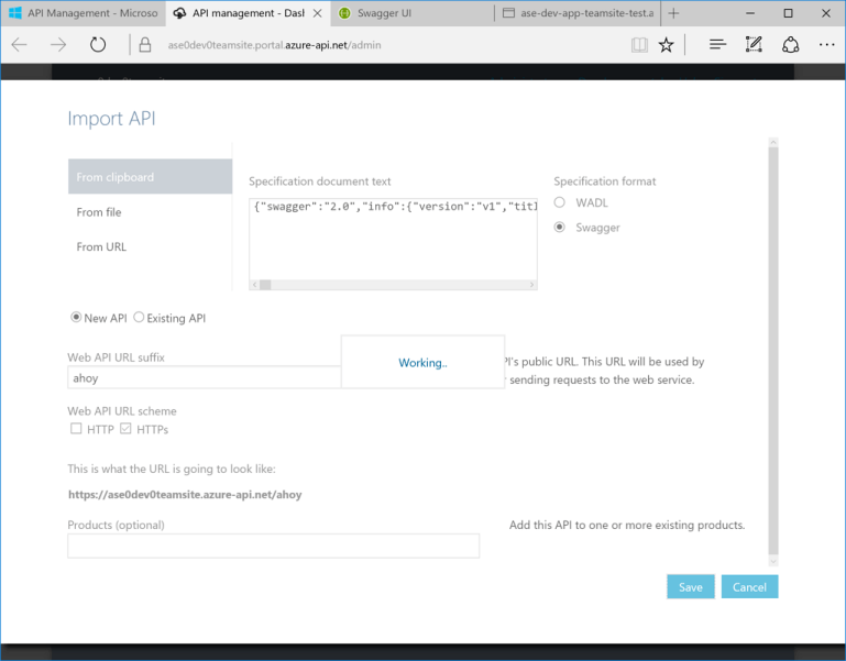 API Management Tips & Tricks - Importing Swagger 2 0 Docs