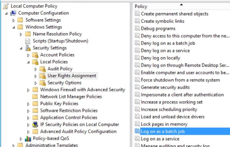 Avoiding Windows service accounts with static passwords