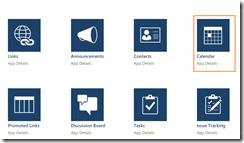 SharePoint online calendar 3