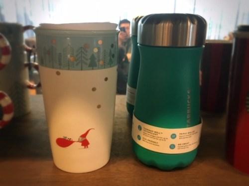 Malaysia Starbucks Christmas 2018 tumbler bottle