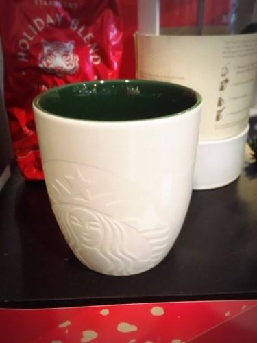 Malaysia Starbucks Christmas 2018 mug