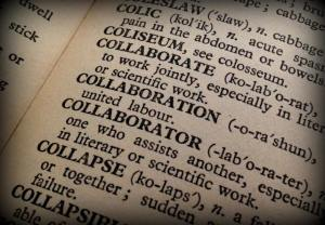 Dictionary words - collaboration