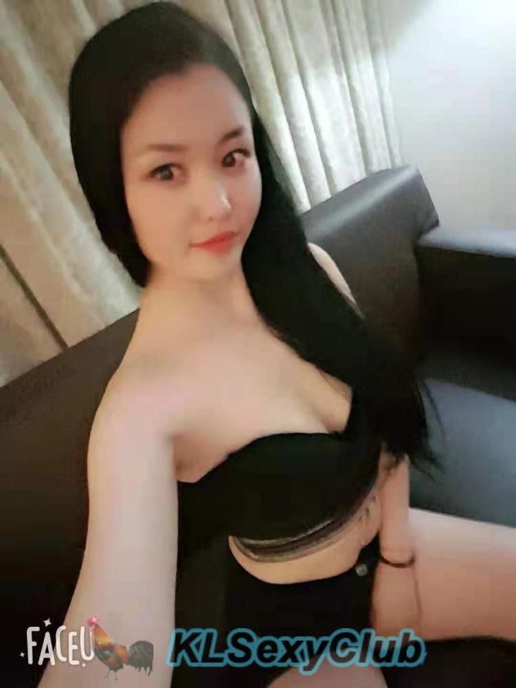 Japan girl in Black dress