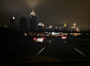 The city, at 5:00 am.