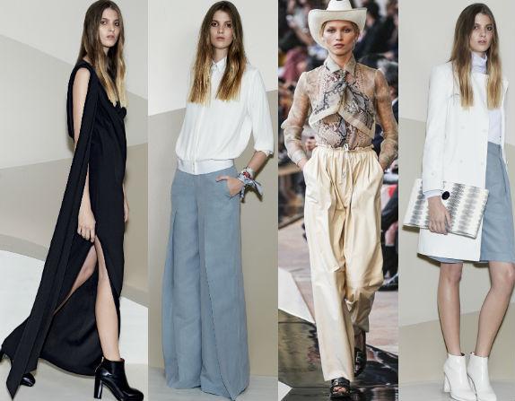 Мода весналето 2015 фото модных платьев на весну и лето