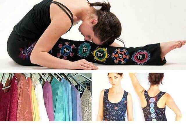 how to open chakras: clothes