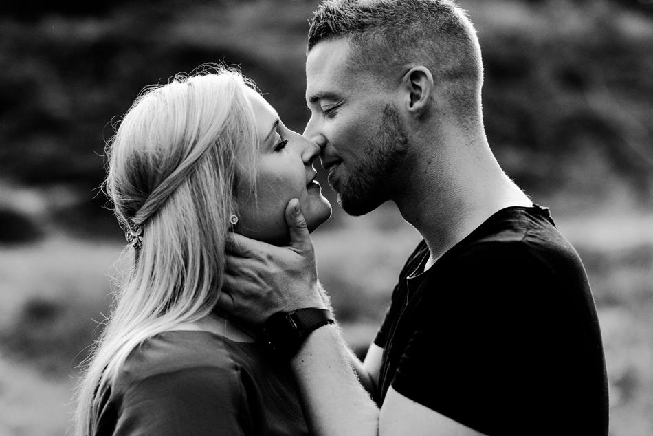 Romantische Paarfotografie in Nordfriesland