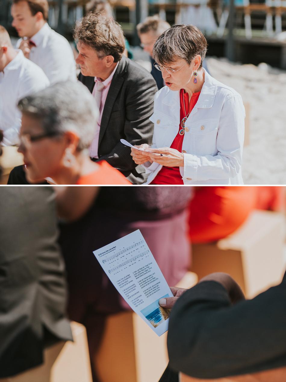 Eine Deutsch-Türkische Hochzeit im Strandhaus in Schwedeneck bei Kiel