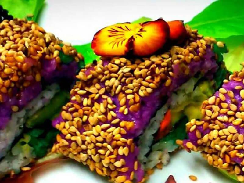 Frühlingswiesen-Sushi