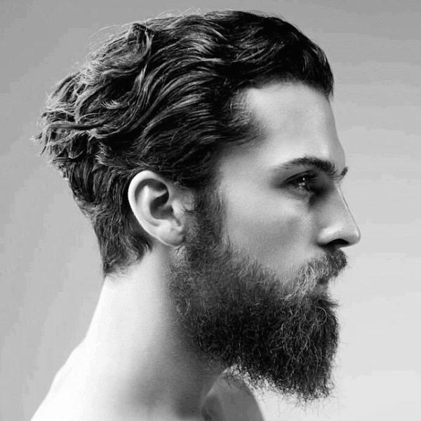 Стрижки на средние волосы фото мужские: красивые прически ...