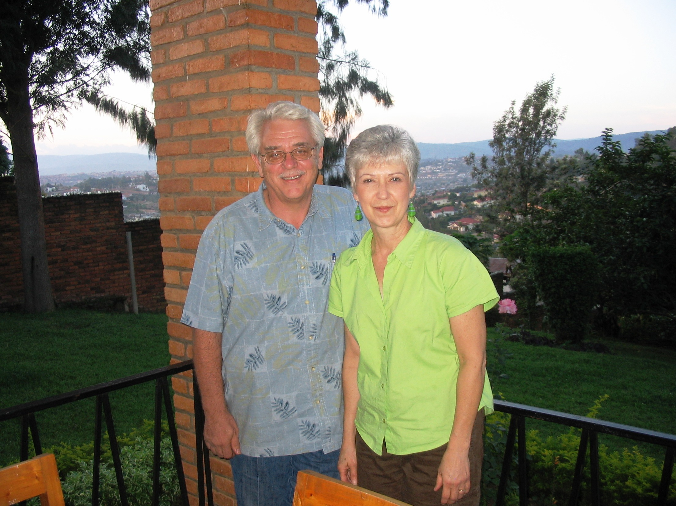 Jacksons at Kigali home