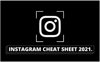 INSTAGRAM CHEAT SHEET 2021: Get the dimensions right