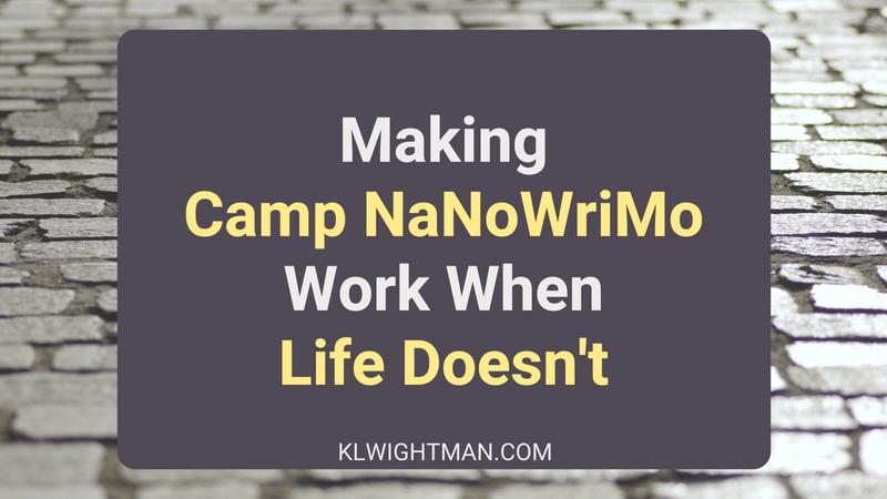 Making Camp NaNoWriMo Work When Life Doesn't via KLWightman.com