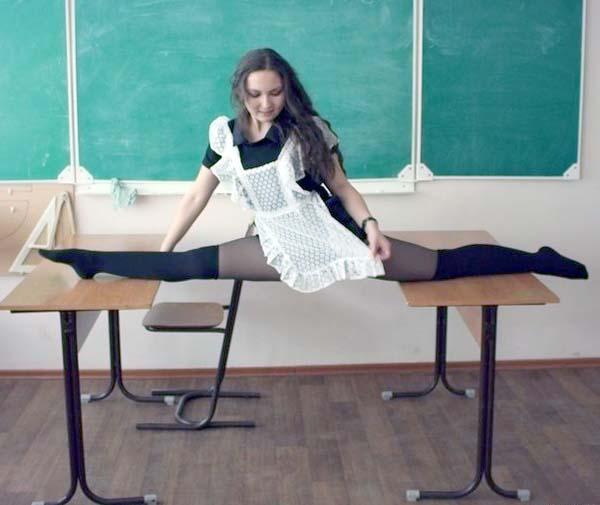 Unrealistically Flexible Girls Klyker Com