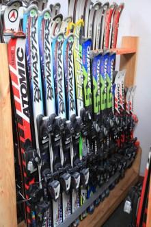 esquís de adulto y junior