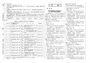 平成31年度 (第69回) 税理士試験 公告