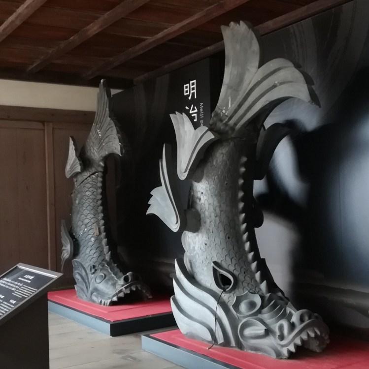 姫路城 しゃちほこ