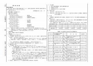令和3年度 (第71回) 税理士試験 官報公告1