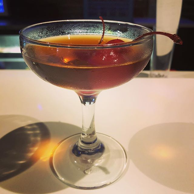 Knob Creek, Averna, black walnut bitters & espresso-infused vermouth. Kelsey makes a killer