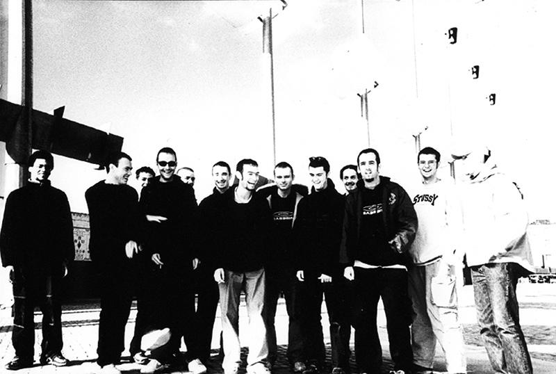 Bassbin records crew