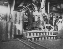 Engineer in the Engine Room (Steamer unknown)