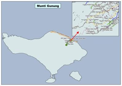 Peta Desa Munti Gunung