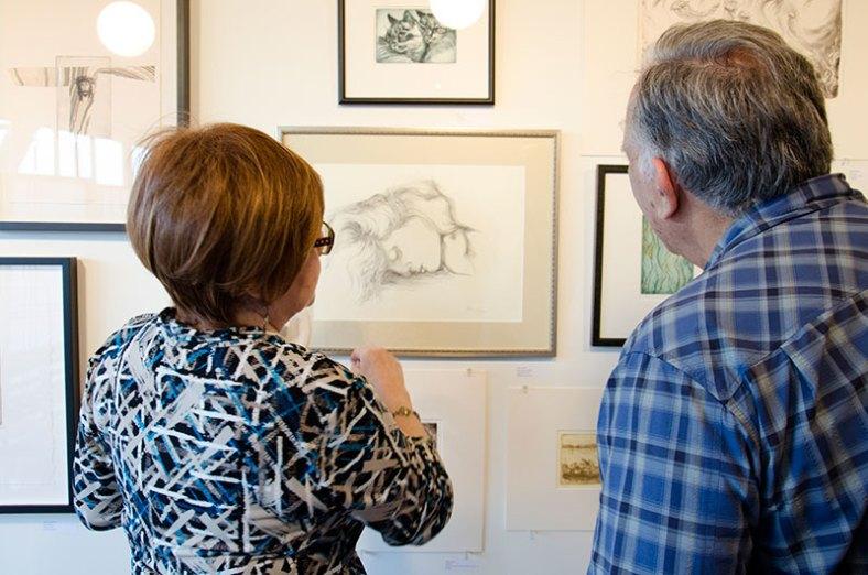 gallery-reception-art-studio-kmcnickle