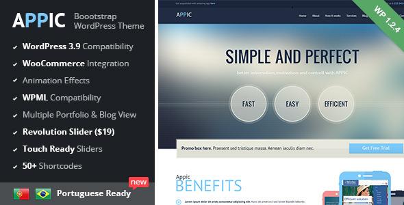 Tema WordPress Appic