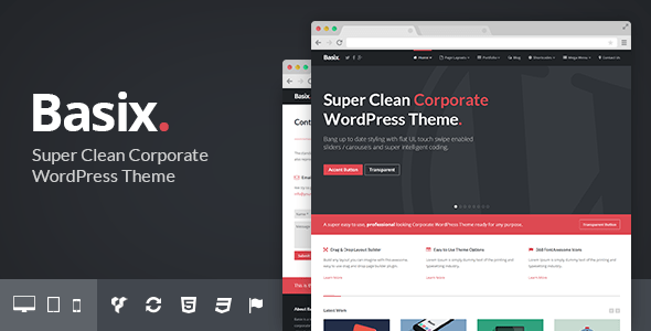 Tema WordPress Basix