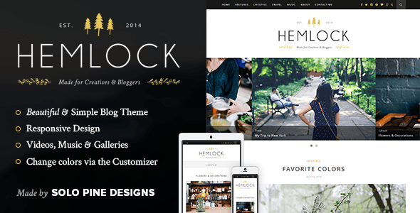 Tema WordPress Hemlock