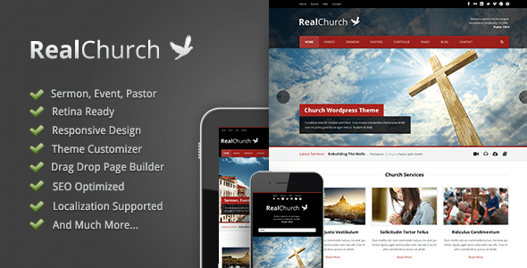 Tema WordPress Real Church