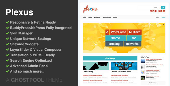 Tema WordPress Plexus