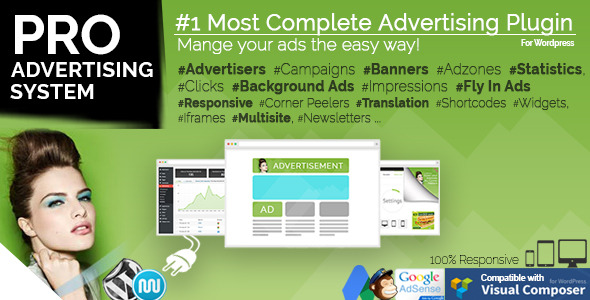 Plugin WP PRO Advertising System