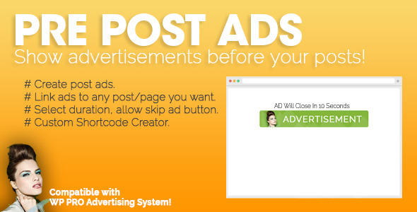 Plugin WP Pre Post Advertising