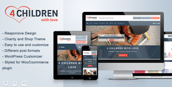 Tema WordPress Children With Love