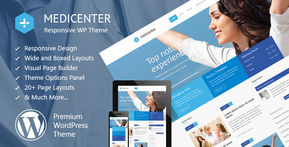Tema WordPress MediCenter