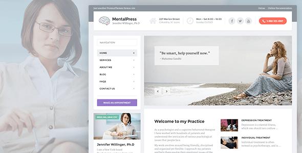 Tema WordPress MentalPress