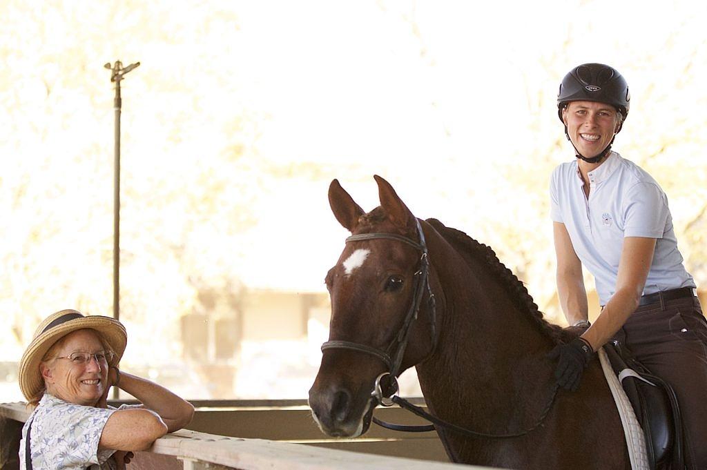 Horse, Rider, and Susan.
