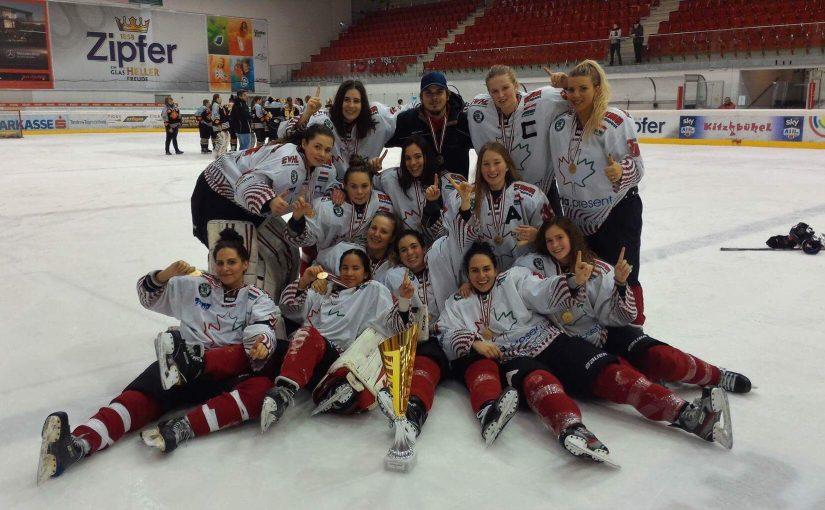 DEBL bajnok női csapatunk!
