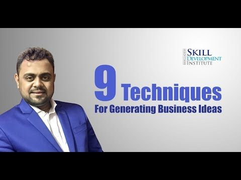 9 Techniques for Getting Ideas