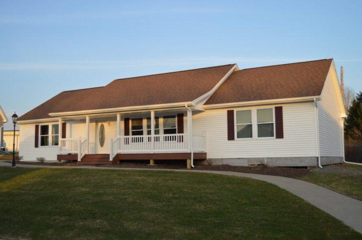 Ranch Modular Home, Model #3