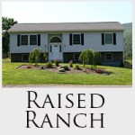 Rasied Ranch home styles