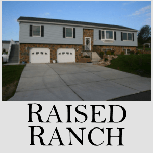 Raised Ranch Modular Home 3BR