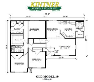 T-Ranch Modular Home