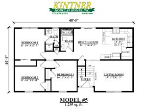 Raised Ranch Modular Home